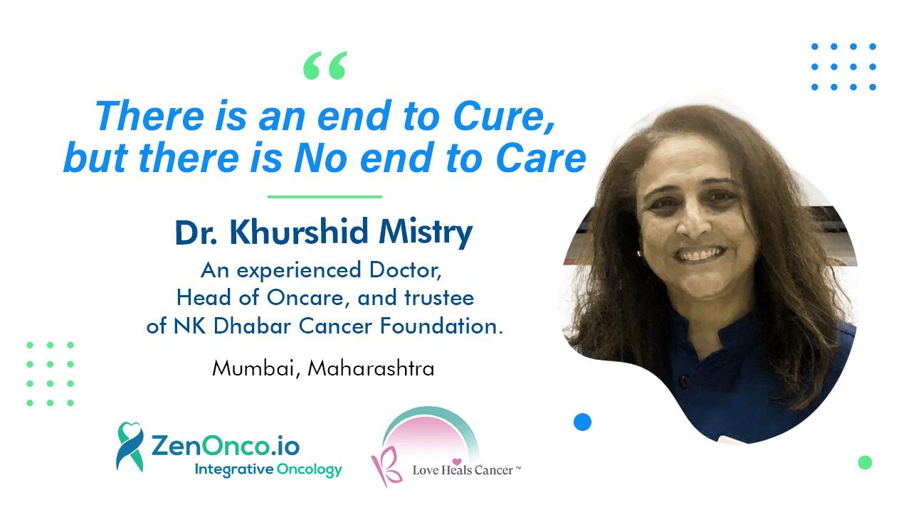 Healing Circle Talks with Dr Khurshid Mistry: Palliative Care
