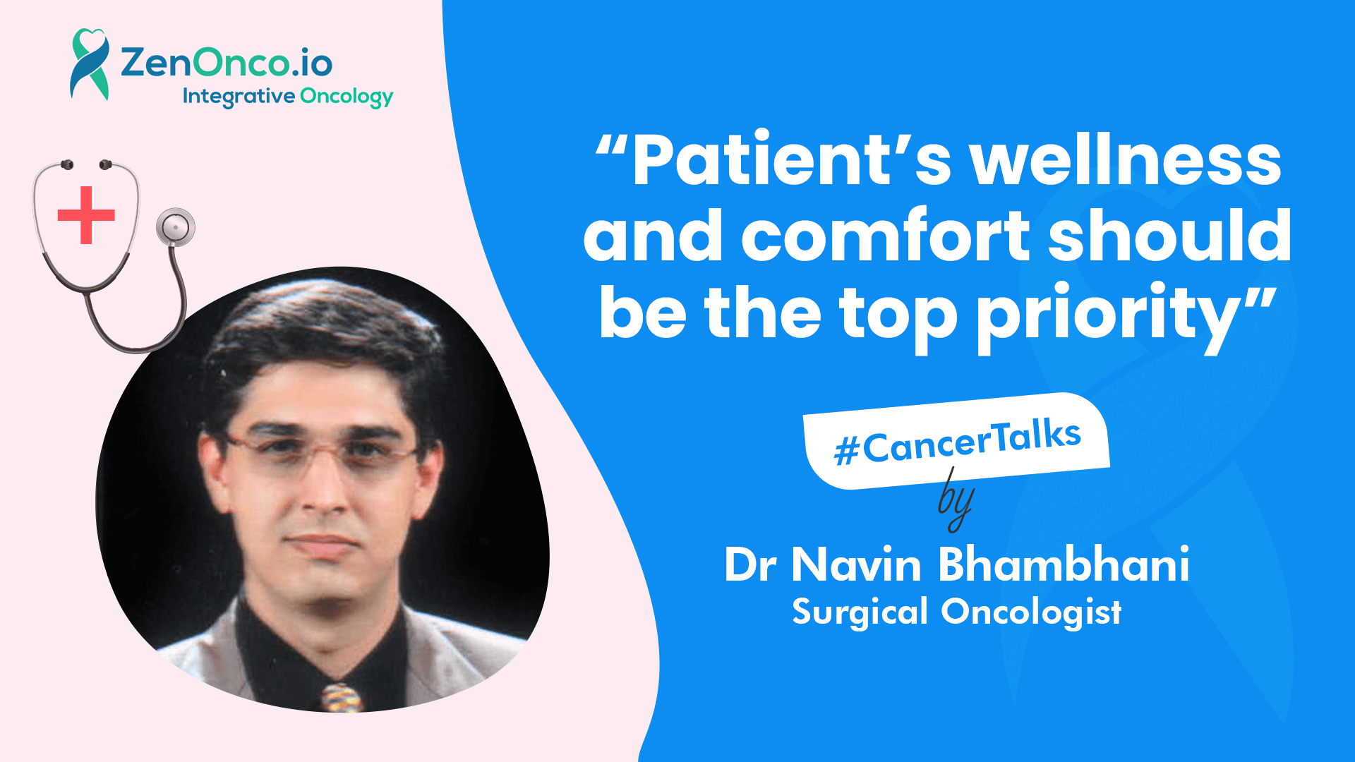Interview with Dr Naveen Bhambani (Surgical Oncologist): Treatment of Head and Neck Cancer