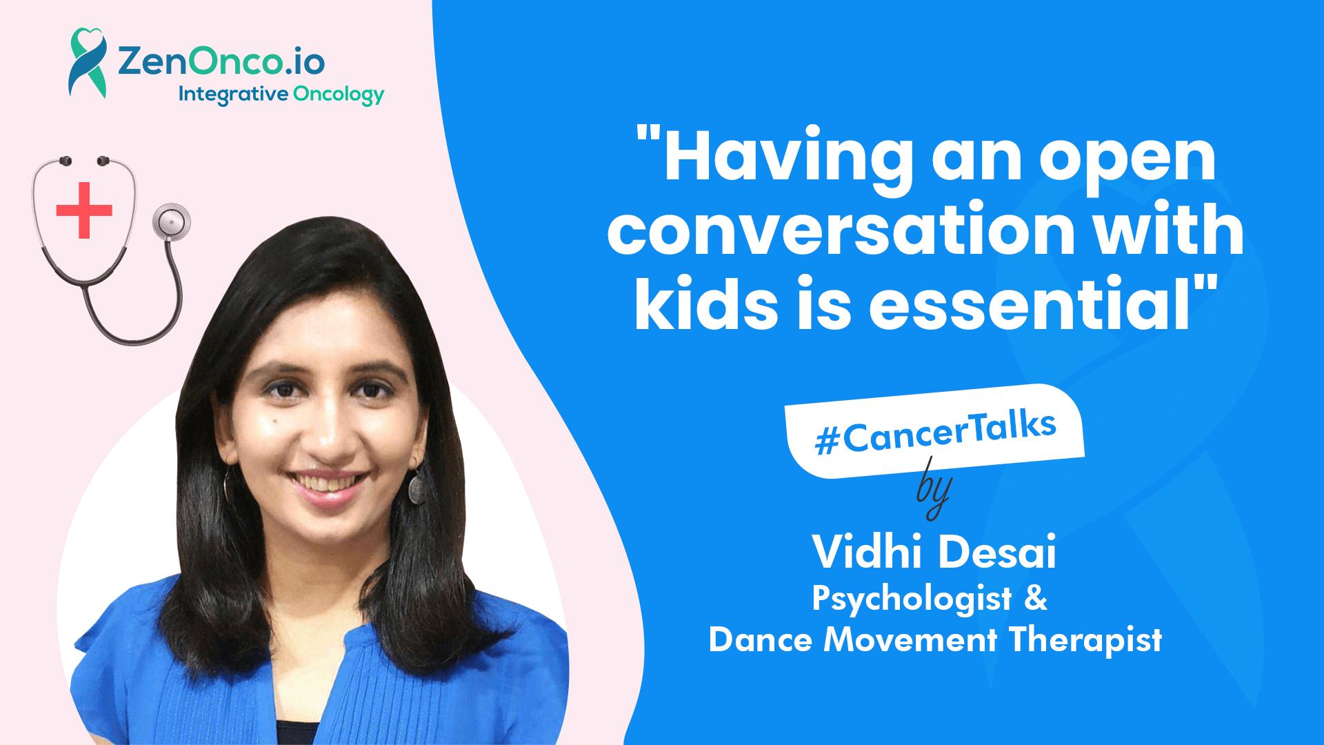 Interview with Vidhi Desai (Dance Movement Therapist)